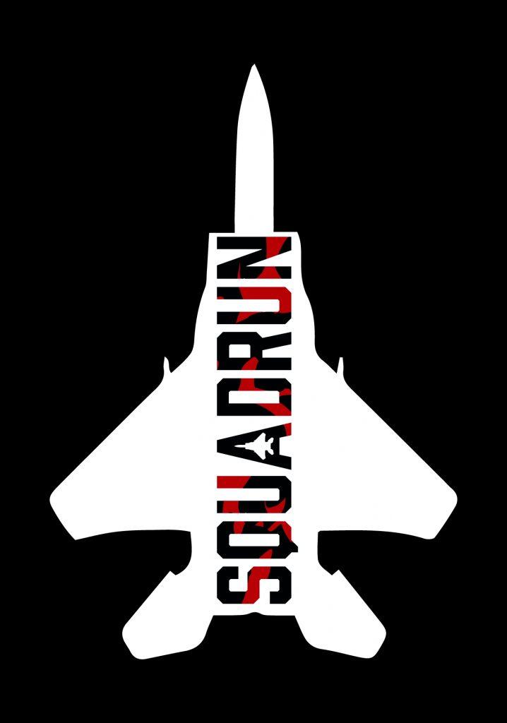 SquadRun_ Plane White