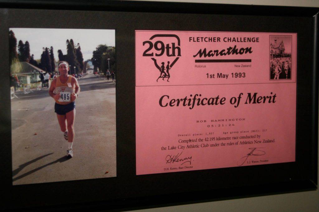 Rob H marathon