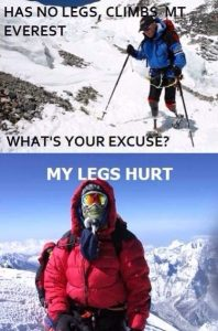 My Legs Hurt